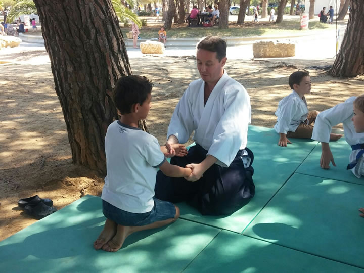 Aikido section enfant